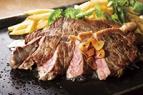 熱々北海道産牛ステーキ