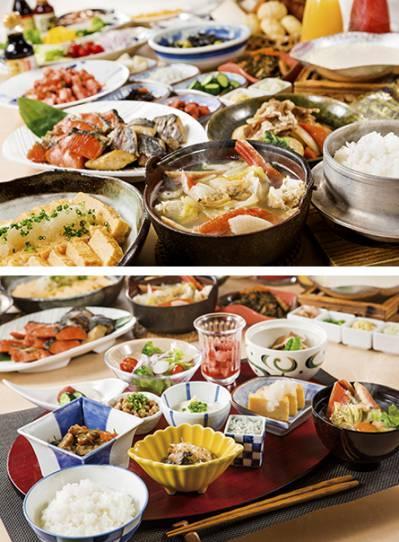 日本料理 美浜の朝食 和洋食ブッフェ