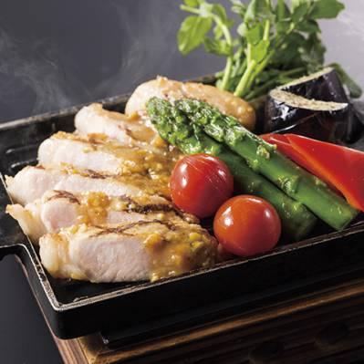 北総ポーク鉄板焼き(土・日・祝のディナー限定)