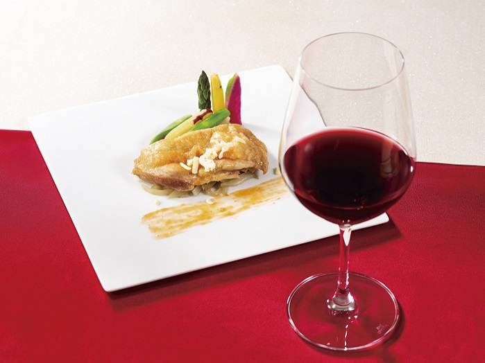 【2月メイン料理】鶏肉のチーズ入りチリソース