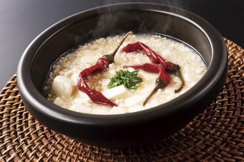 〈 7・8月 〉 白い麻婆豆腐