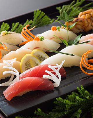 こだわり握り寿司