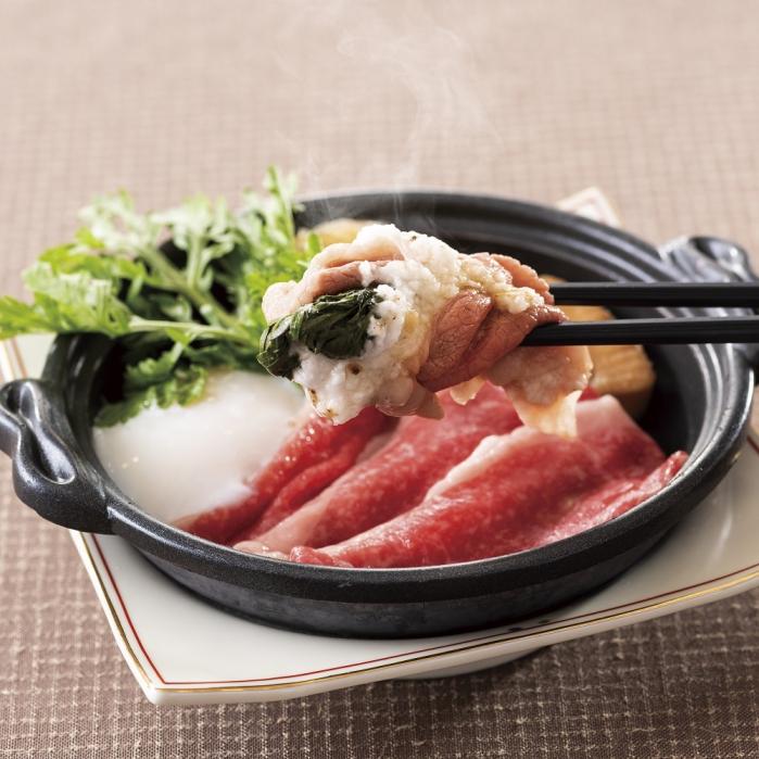 【平日限定】牛肉のすき焼き仕立て