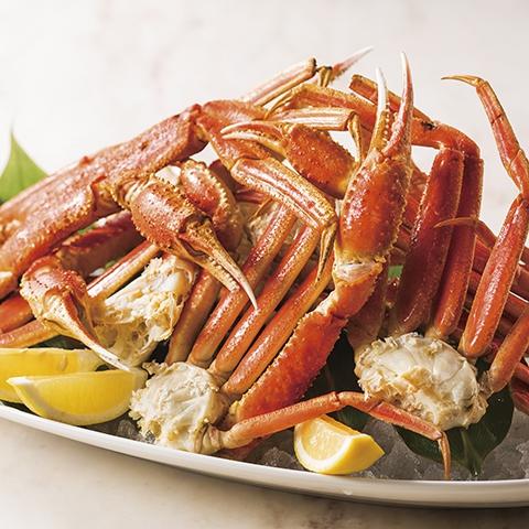 【ランチ&ディナー】ズワイ蟹