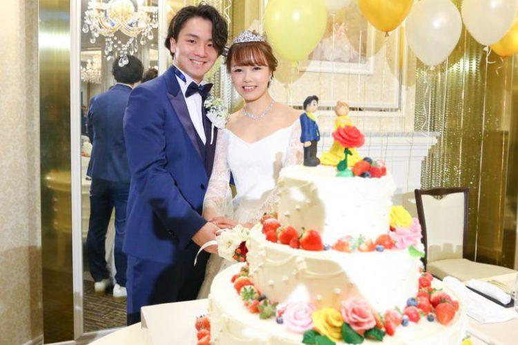 まるで王子様・プリンセスの結婚式♪参加型の演出をたくさん取り入れてゲストに感謝を伝える結婚式