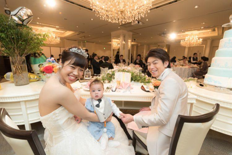 パパママ婚☆全員参加イベントやサプライズで、笑顔と涙の結婚式