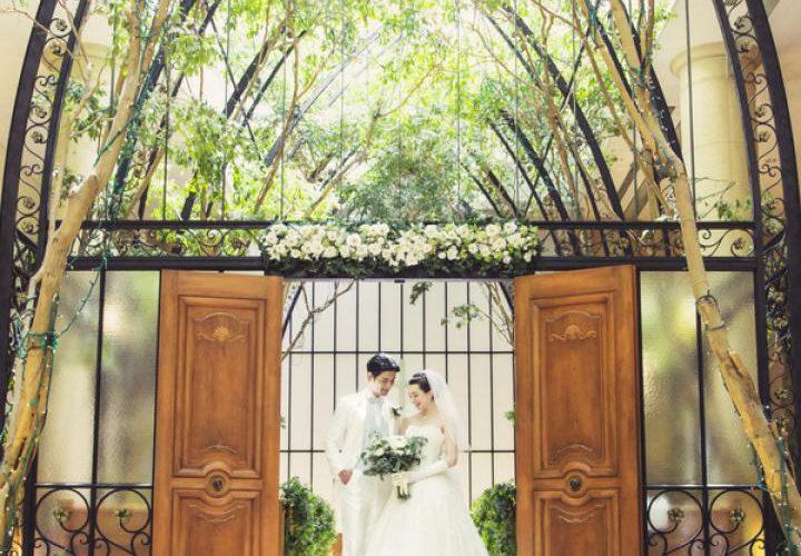 【ふたりだけの結婚式】緑と光のチャペルで叶える挙式プラン