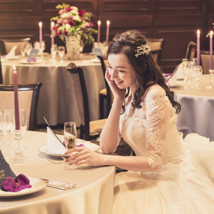 人気シーズンオータムプラン♪<br /> お料理はもちろん、衣裳や装花を含む内容が充実の安心&嬉しいプランです。<br /> この機会を見逃さないで!!