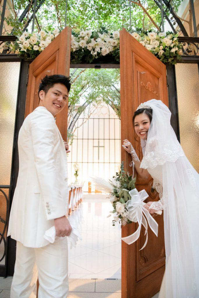 憧れのチャペルで☆ご新婦の夢や想いがたくさん詰まった結婚式