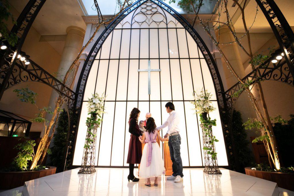 思い出のチャペルで 結婚10周年『バウリニューアルセレモニー』